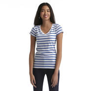 Bongo Junior's V-Neck T-Shirt - Striped at Sears.com