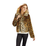 Women's Faux Fur Bolero Blazer - Online Exclusive at Kmart.com