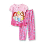 Disney Princess Girl's Short Sleeve Pajama Top & Pants at Kmart.com