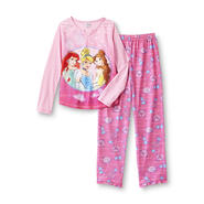 Disney Princess Girl's Long-Sleeve Pajama Top & Pants at Kmart.com