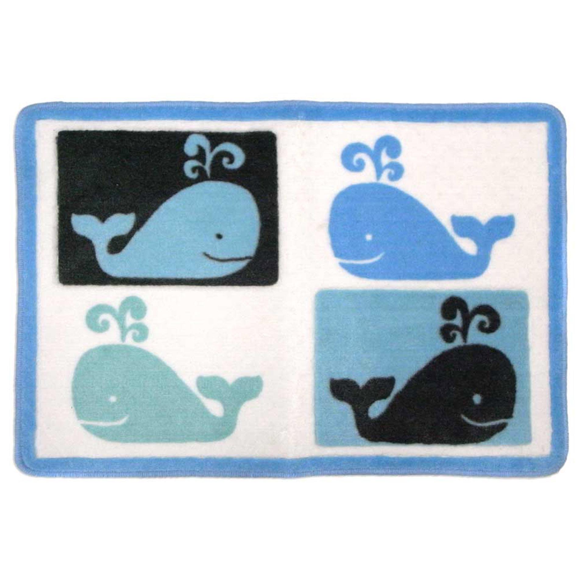 Whale Watch Bath Mat - Checkerboard PartNumber: 09623684000P KsnValue: 09623684000 MfgPartNumber: WHARU00