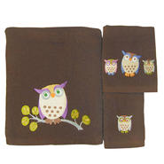 3-Piece Bath Towel Set - Awesome Owls at Kmart.com