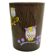 Bathroom Wastebasket - Awesome Owls at Kmart.com