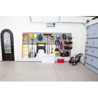 Flow Wall 48 Foot Garage and Hardware Storage System