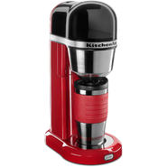 KitchenAid 4-Cup Personal Coffee Maker with Multifunctional Thermal Mug - Empire Red at Sears.com