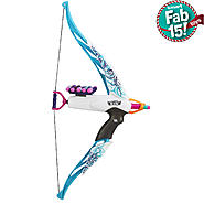 Nerf Rebelle Heartbreaker Bow Blaster - Vine Design Blue at Kmart.com