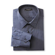 Structure Men's Long-Sleeve Fitted Dress Shirt - Stripe at Sears.com