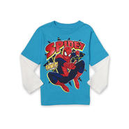 Marvel Toddler Boy's Layered Graphic T-Shirt - Spider-Man at Sears.com