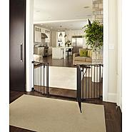 North States Industries Deluxe Decor Metal Gate - Matte Bronze, Model# 4934 at Sears.com