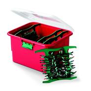 Homz Red Holiday Lighting Storage Box at Kmart.com