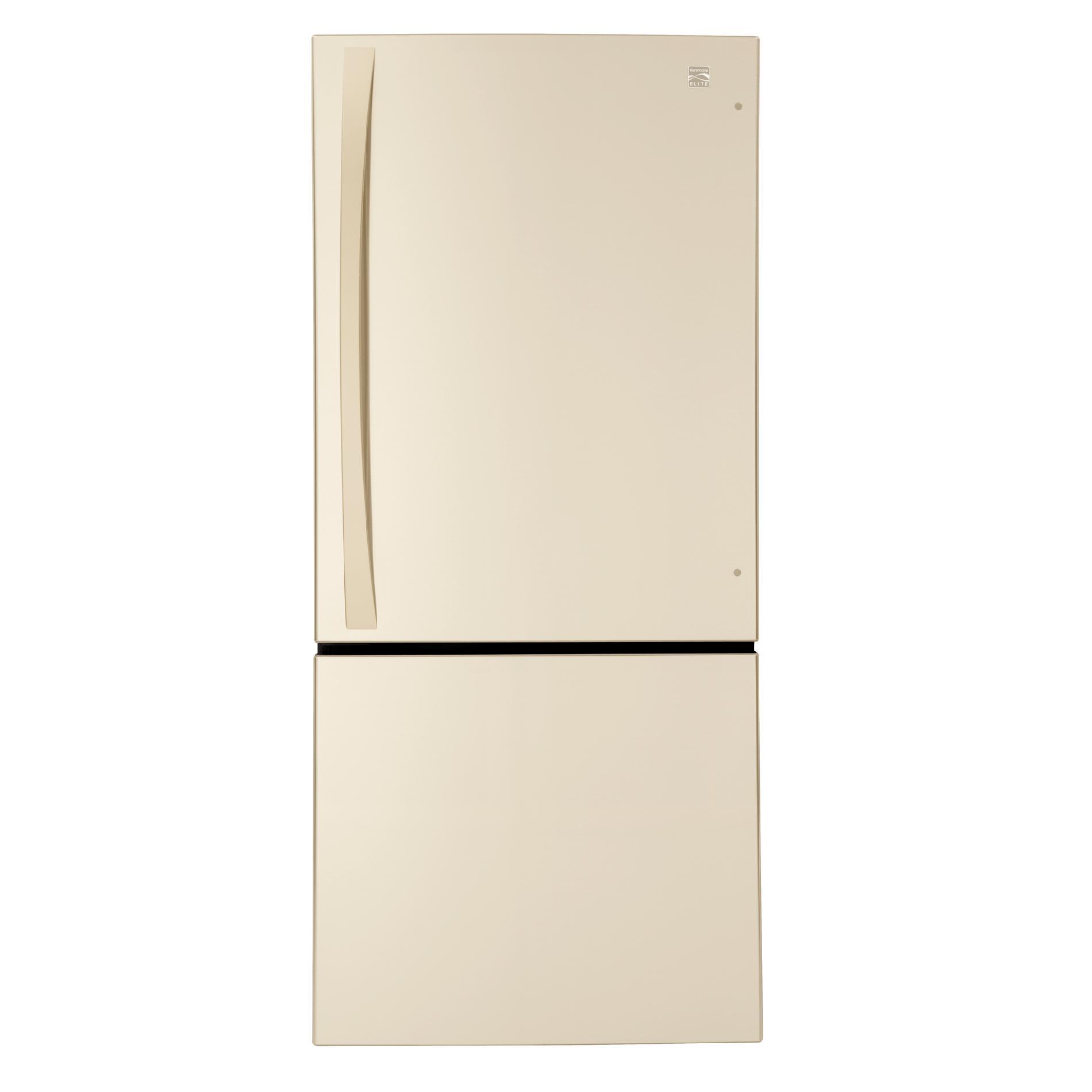 Kenmore Elite 22 cu. ft. Bottom-Freezer Refrigerator - Bisque