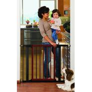 Munchkin Wood and Steel Designer Gate - Dark Wood, Model# 31061,31071 at Sears.com