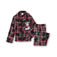 Disney Baby Toddler Boy's Pajama Shirt & Pants - Mickey Mouse Plaid at Kmart.com