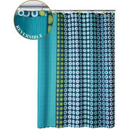 On A Dot Reversible Shower Curtain at Sears.com
