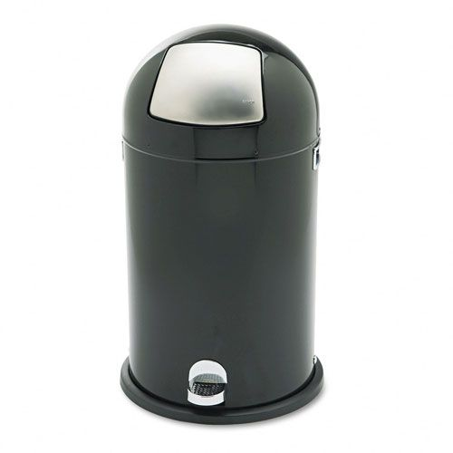 Safco  Step-On Dome Top Receptacle