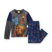 WARNER BROS Boy's Pajama Shirt & Pants - Scooby-Doo at Kmart.com