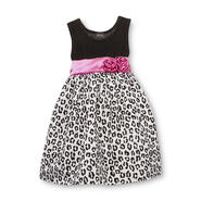 Holiday Editions Toddler Girl's Party Dress - Leopard at Kmart.com