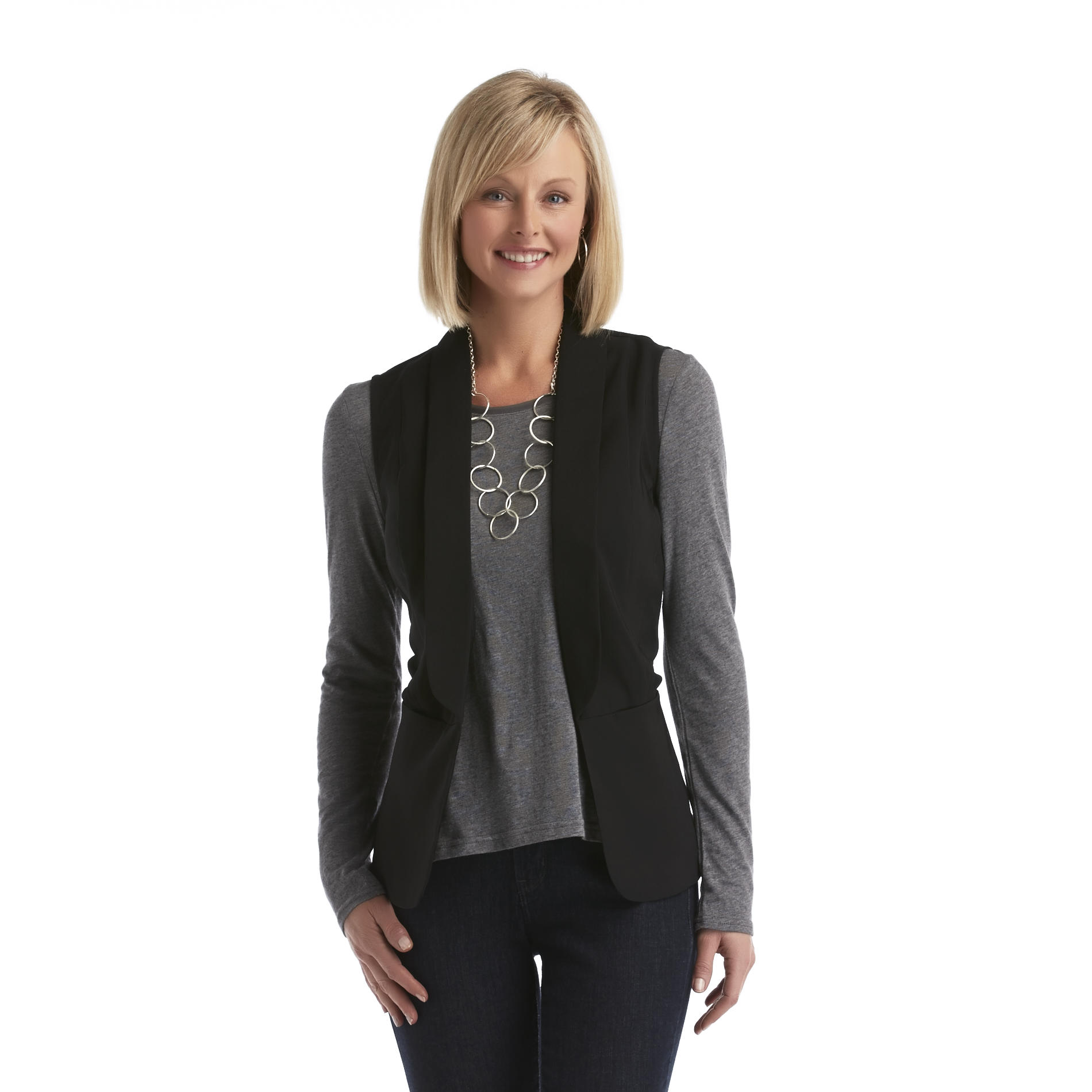 JWK Women's Vest at Sears.com