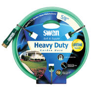 "Swan Soft and Supple 5/8""x100' Reinf Rubber/vinyl Garden Hose at Kmart.com"