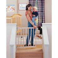 North States Industries Supergate Stairway Swing Gate - Natural, Model# 4630 at Sears.com
