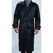 Excelled Men's Leather Trench Coat - Online Exclusive at Kmart.com