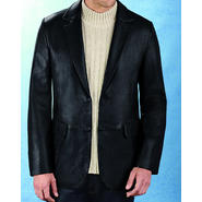 Excelled Men's Lambskin  2 Button Blazer - Online Exclusive at Kmart.com