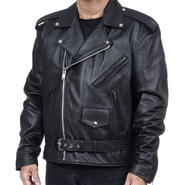 Excelled Men's Classic Motorcycle Jacket - Online Exclusive at Kmart.com
