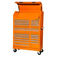 Craftsman 42'' 20-Drawer Ball Bearing Slides Wall Tower Combo Orange at Sears.com