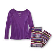 Joe Boxer Women's Pajama Top & Pants - Tribal at Kmart.com