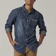 Adam Levine Men's Chambray Shirt at Kmart.com