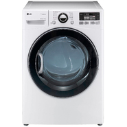 LG 7.3 cu. ft. Steam  Gas Dryer w/ Sensor Dry - White at Sears.com