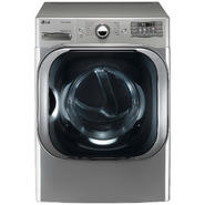 LG 9.0 cu. ft. Mega-Capacity Steam  Gas Dryer w/ Sensor Dry  - Graphite Steel at Sears.com