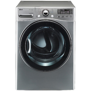 LG 7.3 cu. ft. Steam Gas Dryer w/ Sensor Dry  - Graphite Steel at Sears.com