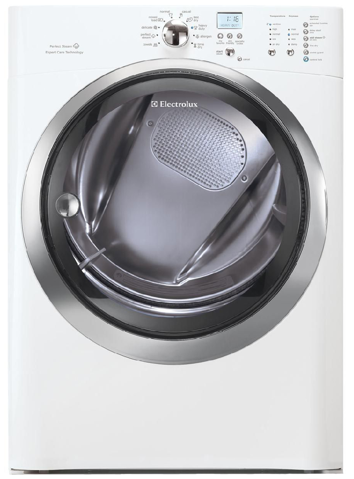 Electrolux IQ-Touch™ 8.0 cu. ft. Large-Capacity Gas Dryer - White