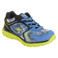 Athletech Boy's Sneaker Sky - Blue/Lime at Kmart.com