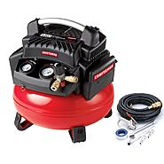 Craftsman 6 Gallon Oil-less Pancake compressor and Hose Kit at Kmart.com