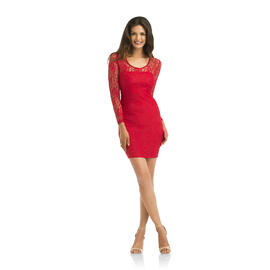 Kardashian Kollection Women's Lace Body-Con Dress at Sears.com