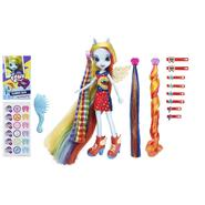 HASBRO My Little Pony Equestria Girls Rainbow Dash Hairstyling Doll at Kmart.com