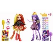 HASBRO My Little Pony Equestria Girls Sunset Shimmer and Twilight Sparkle Dolls at Sears.com