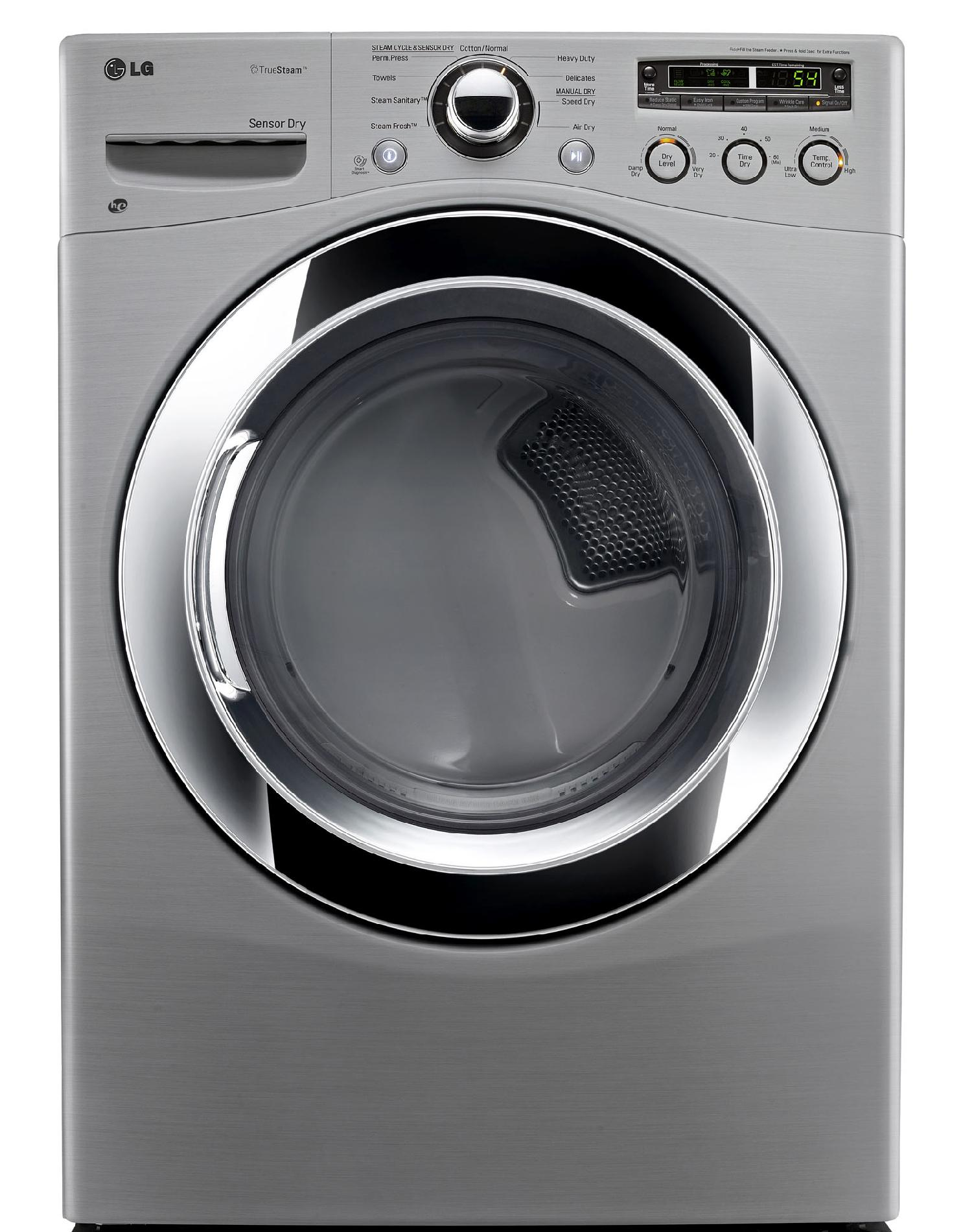 Lg Sensor Dryer ~ Lg cu ft electric dryer w sensor dry graphite