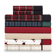Cannon 4 Piece Flannel Sheet Set at Kmart.com