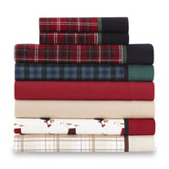Cannon 4 Piece Flannel Sheet Set at Sears.com