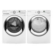 Whirlpool 4.1 cu. ft. Front-load Washer w/ Deep Clean Steam & Dryer Bundle at Sears.com