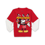 Disney Baby Mickey Mouse Toddler Boy's Long-Sleeve T-Shirt - Vintage Mickey at Sears.com