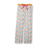 Joe Boxer Women's Ribbed Velour Pajama Pants - Sleep Print at Kmart.com