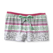 Joe Boxer Women's Pajama Shorts - Leopard Fair Isle at Kmart.com