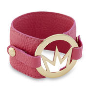 Nicki Minaj Women's Logo Band Bracelet - Faux Leather at Kmart.com