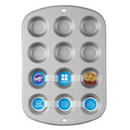 Essential Home 12-Cup Non-Stick Mini Muffin Pan at Kmart.com