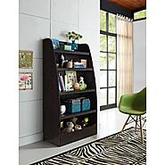 Altra Espresso Kids 4-shelf Bookcase at Kmart.com