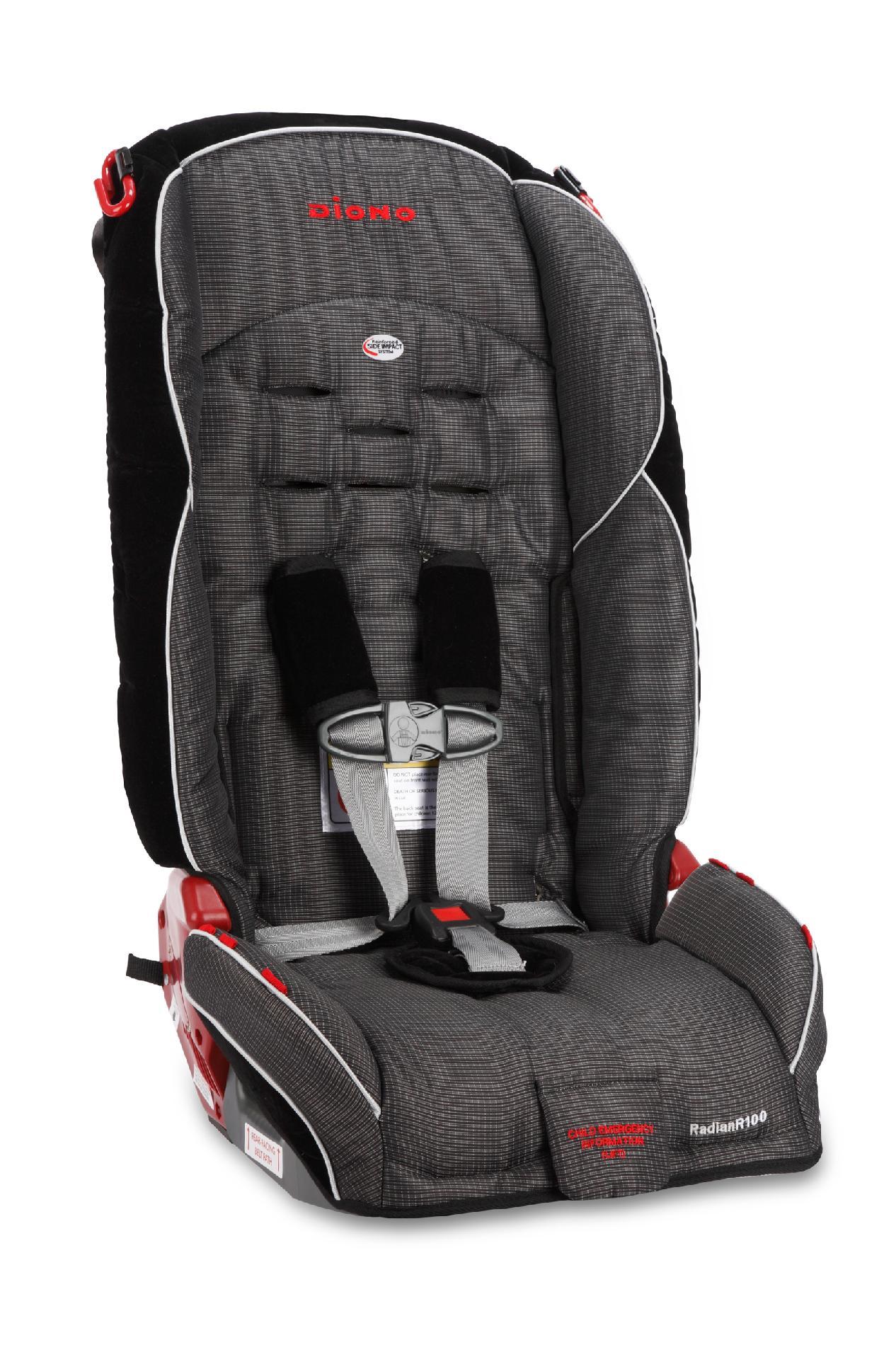 DIONO, LLC Radian R100 Convertible Car Seat - Shadow